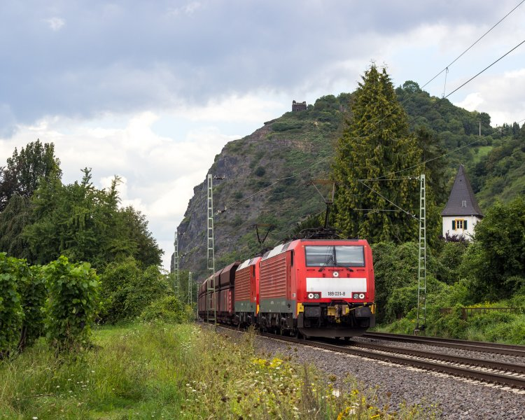 Электровоз ES 64 F4 (DB 189,  SBB RE 474)